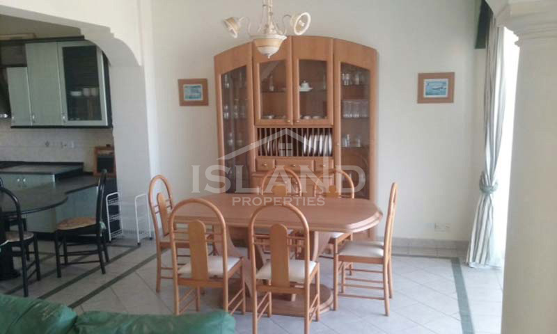 Dining room apartment Mellieha