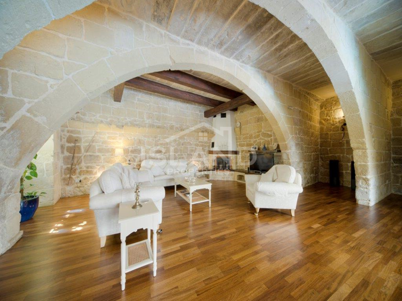 Living room/House of Character in Zejtun