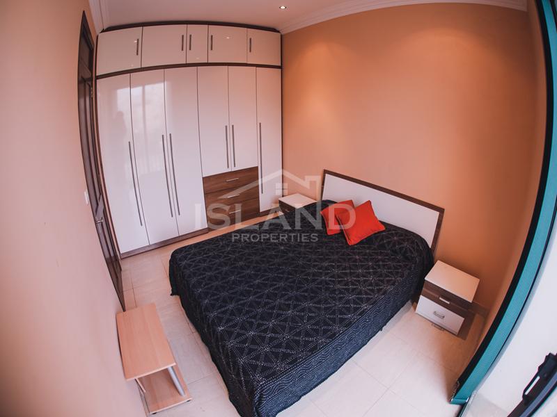 Bedroom/Modern Apartment in Sliema