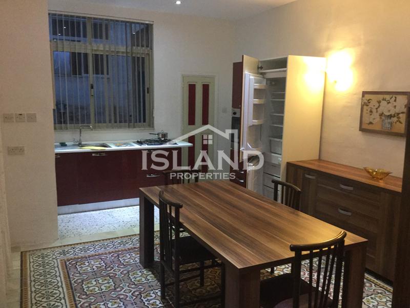 Island Properties apartment dining room in Sliema