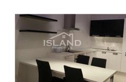 Island Properties apartment kitchen in Sliema