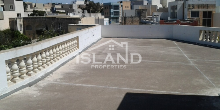Terrace apartment Sliema