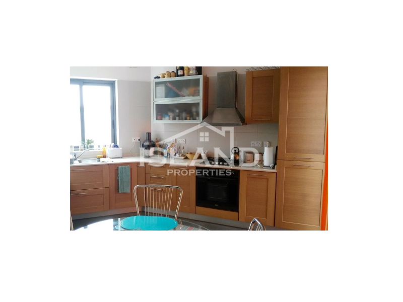 Island Properties apartment kitchen in Naxxar
