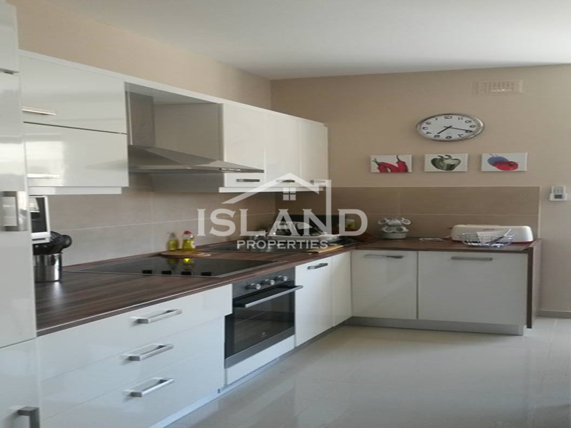 Island Properties apartment kitchen Sliema