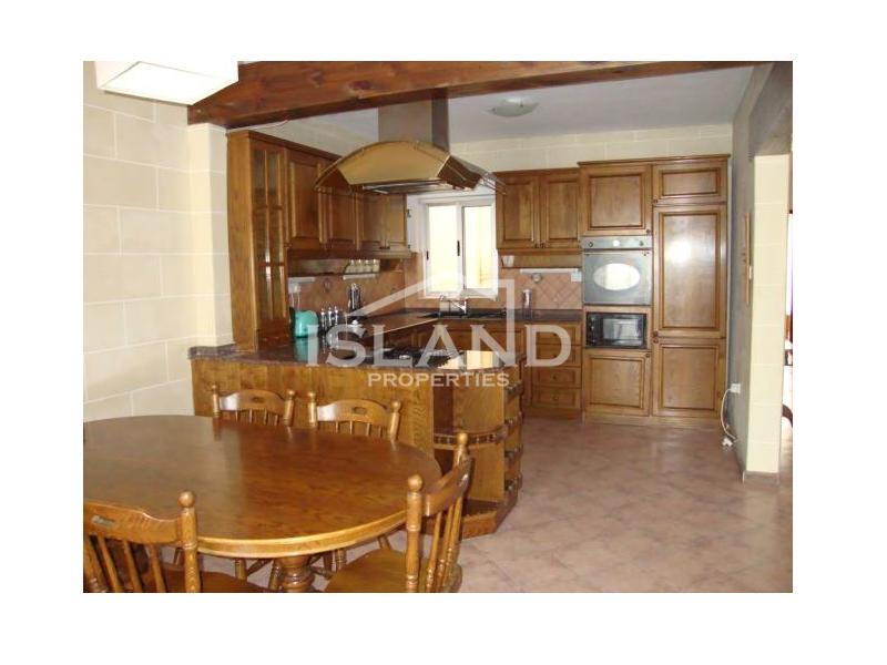 Island Properties apartment kitchen in Msida
