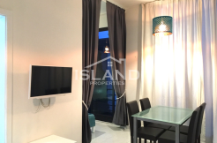 Island Properties apartment living room in Msida