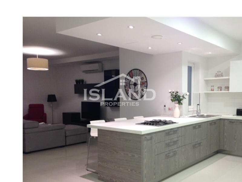Island Properties, Penthouse in Mellieha, kitchen