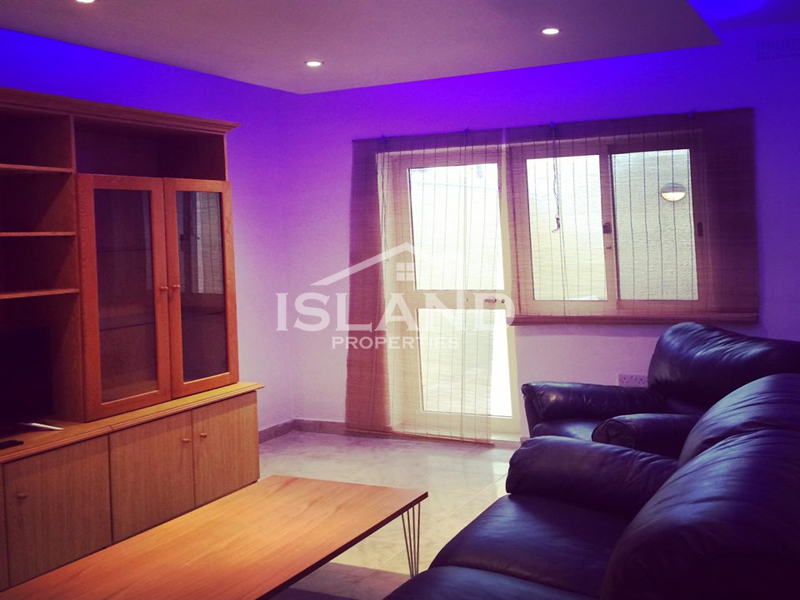 Living room apartment Sliema