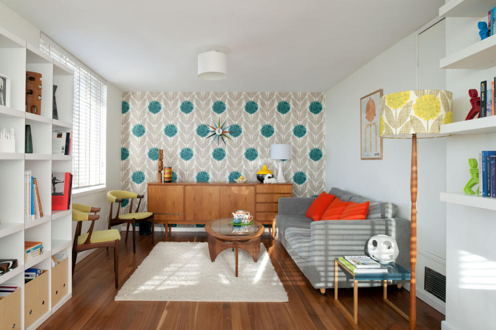 Wohnzimmer retro style  Helpful decoration styles and suggestions for decorating a home