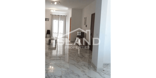 Three Bedroom Apartment in Mqabba