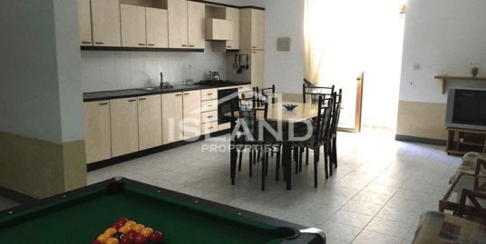 Three Bedroom Apartment in Bahar Ic-Caghaq