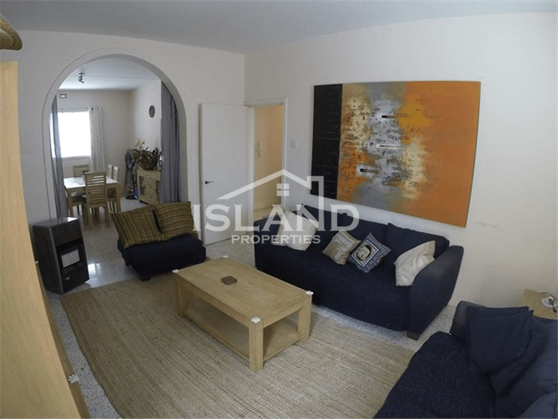 Three Bedroom Apartment in St Julian's