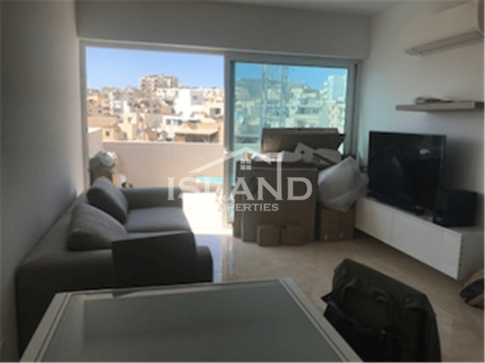 Two Bedrooms Penthouse in Gzira