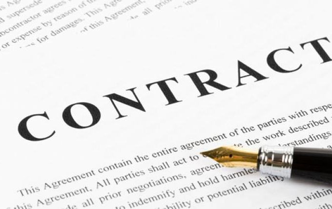 contract rental register